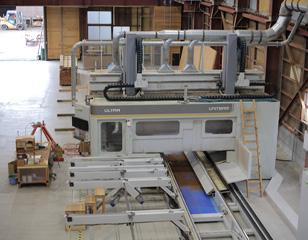 CLT工場